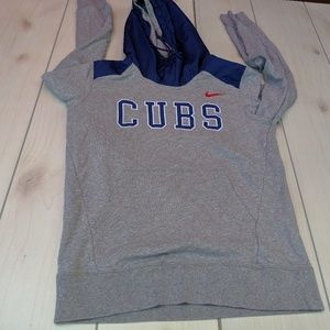 Nike chicago cubs baseball sweatshirt top shirt ho